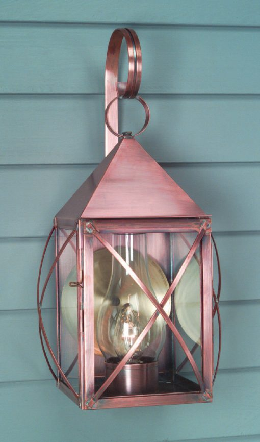 Colonial Home Copper Wall Light W118