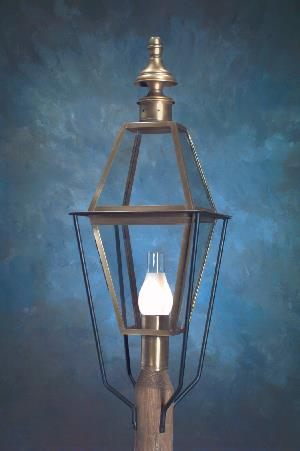 Hammerworks Traditional Colonial Post Lights P101 Handcrafted With Solid Copper Or Brass In America