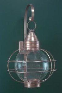 Hammerworks Colonial Wall Lantern RG12 Handcrafted In Solid Copper With Antique Finish