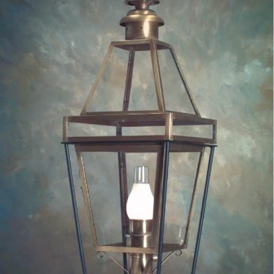 Copper Colonial Boston Post Lantern P103