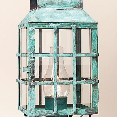 Outdoor Copper Post Lanterns 1003P