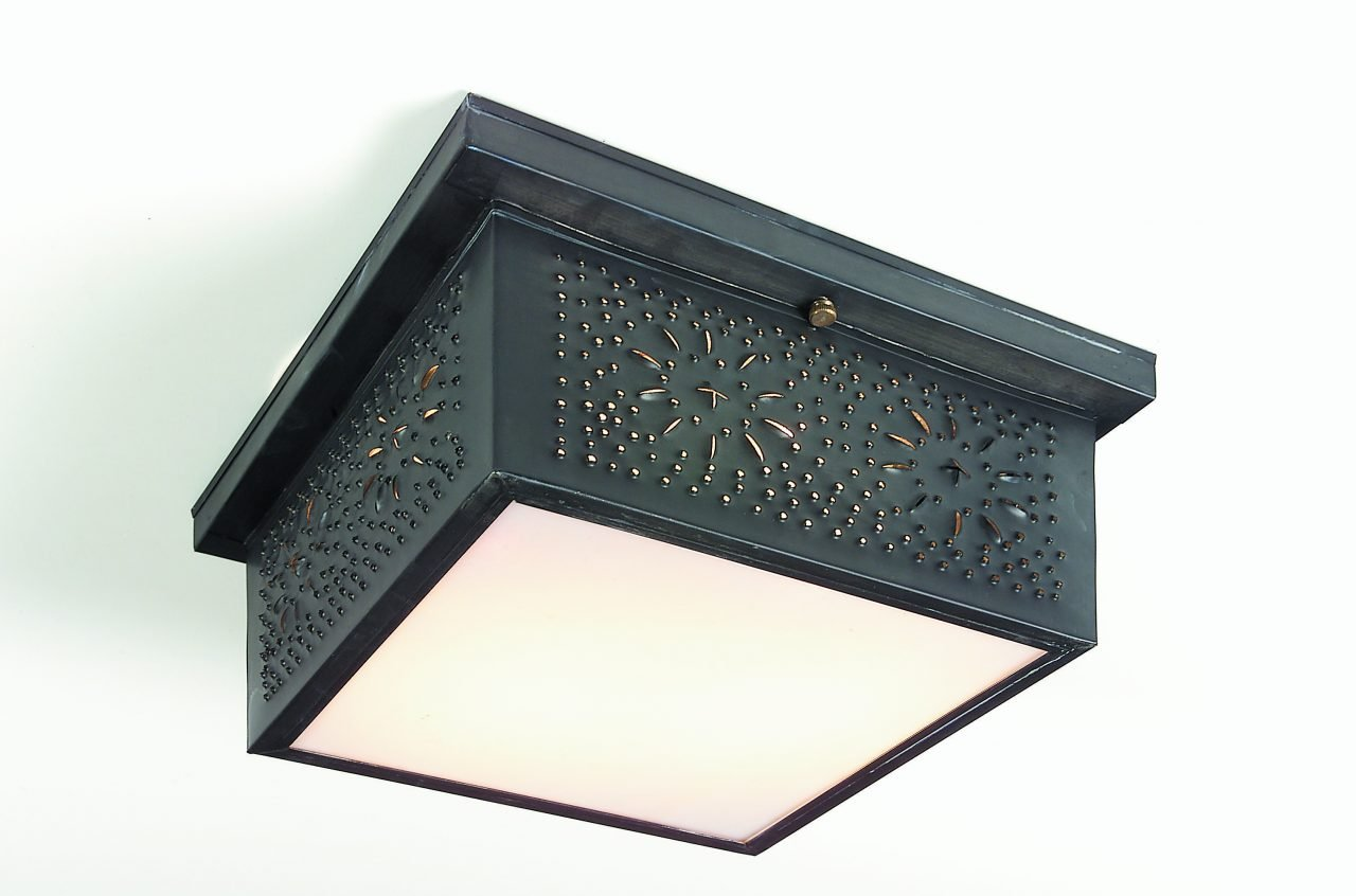 Punched Tin Ceiling Mount Lights: CL117