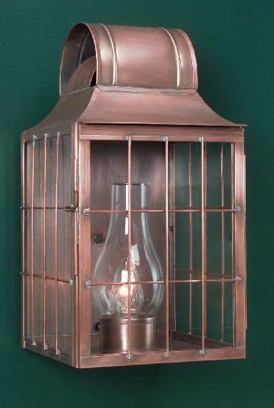 Hammerworks Colonial Reproduction Wall Light WM110 Handmade With Solid Copper