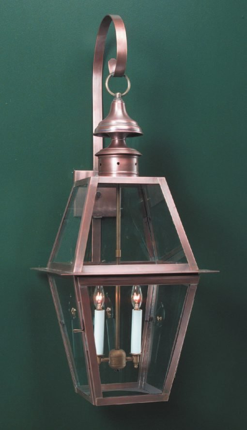 Colonial Wall Light WML102 Handcrafted With Solid Brass