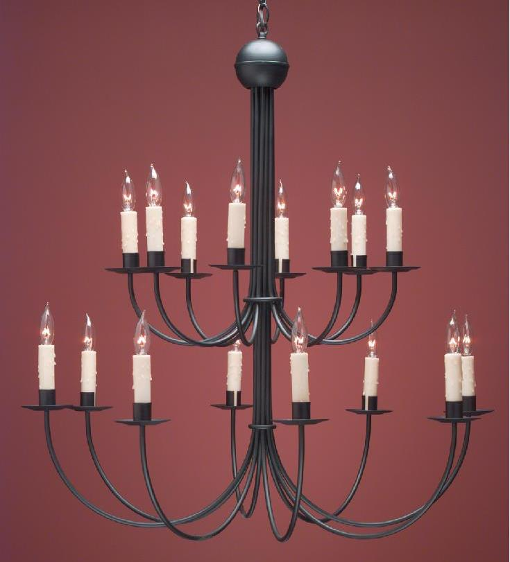 Hammerworks Colonial French Country Chandeliers FCCH 510A Handcrafted