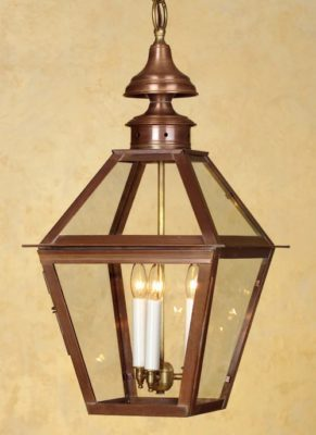 Hammerworks Colonial Copper Hanging Lantern H212