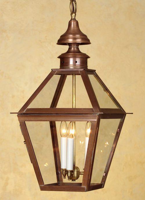 Hammerworks Colonial Copper Hanging Lantern H212