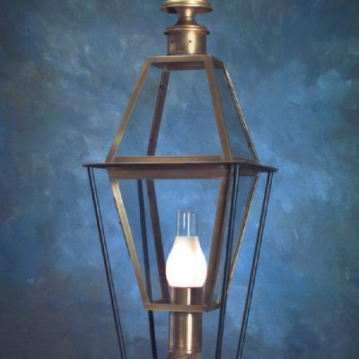 Colonial New England Style Copper Post Lantern P101
