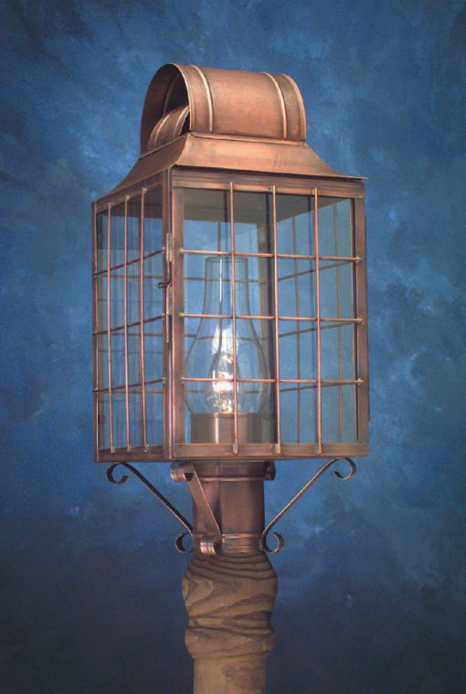 Cape Cod Style Post Lantern P110