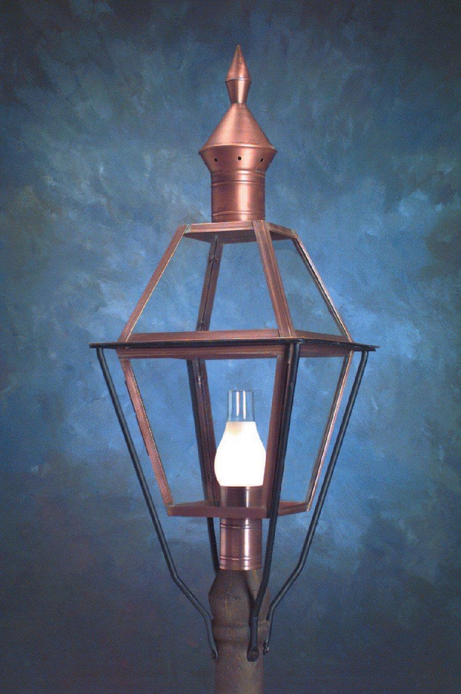 Colonial Copper Post Lanterns P113