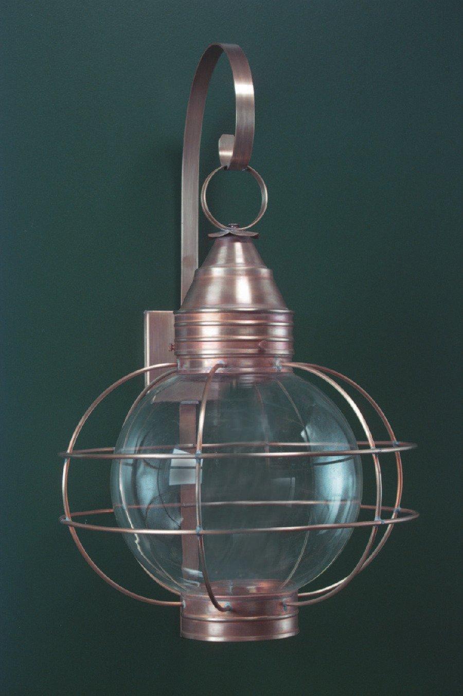 Onion Copper Wall Lanterns RG12