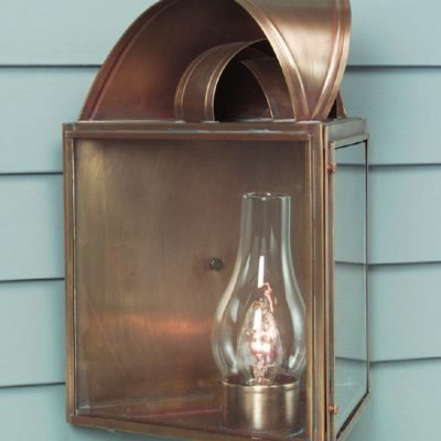 Colonial Copper Wall Lamps: W105
