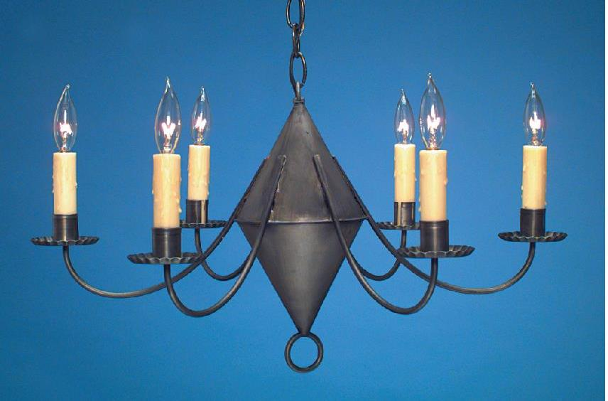 Hammerworks Antique Home Reproduction Chandelier: Model # CH104