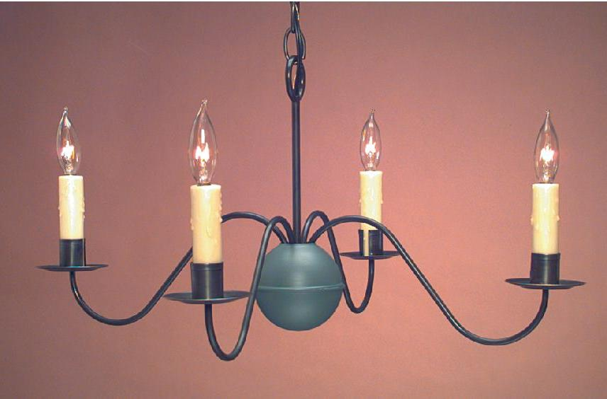 Hammerworks Antique Home Chandeliers Handmade In Tin Finish - CH114