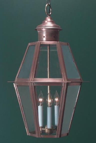 Handcrafted Colonial Style Hanging Coach Lantern H105A