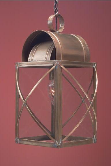 Solid Copper Hanging Lantern WC106