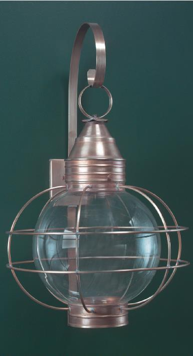 Nautical Looking Copper Wall Lantern RG12
