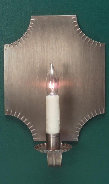 Handcrafted Colonial Period Brass Wall Sconce S110