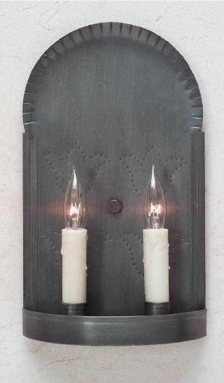 Handmade Colonial Tin Wall Sconce S118