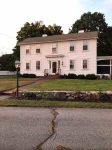 Before: Colonial Home Exterior Lighting & Landscape Restoration